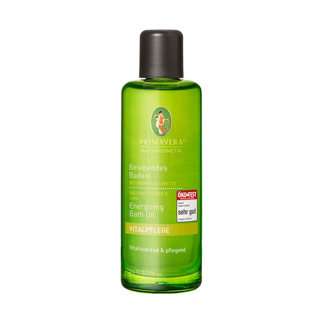 Élénkítő bio  Gyömbér & Lime fürdőolaj