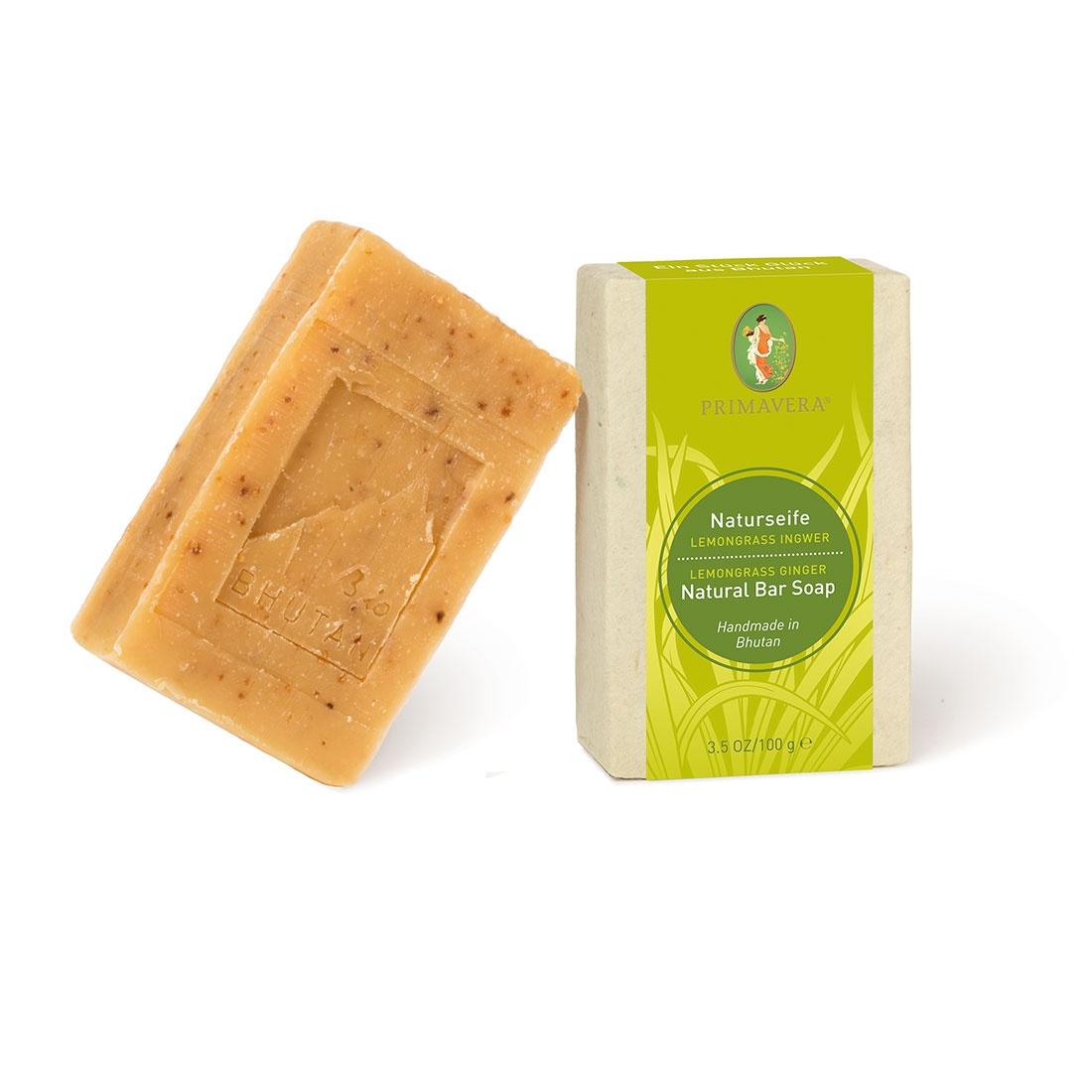 Természetes szappan Indiai citromfű & Bio Gyömbér